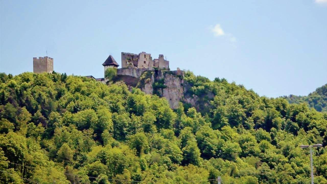 Celje Old Castle in Slovenia