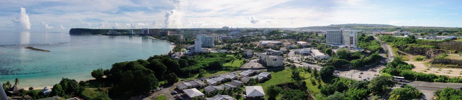 Panoramic view in Guam