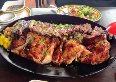 Mixed grilled meat Plate in Guam